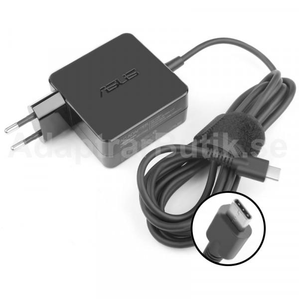 45w usb-c ASUS C403NA-YS02 C434TA-DSM4T Adapter Laddare