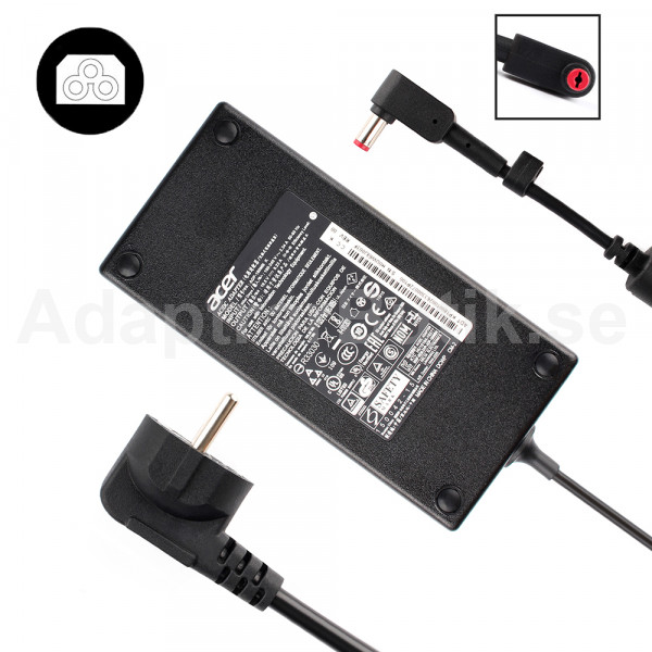Acer chicony a17-180p4a a180a034p Adapter Laddare 180W